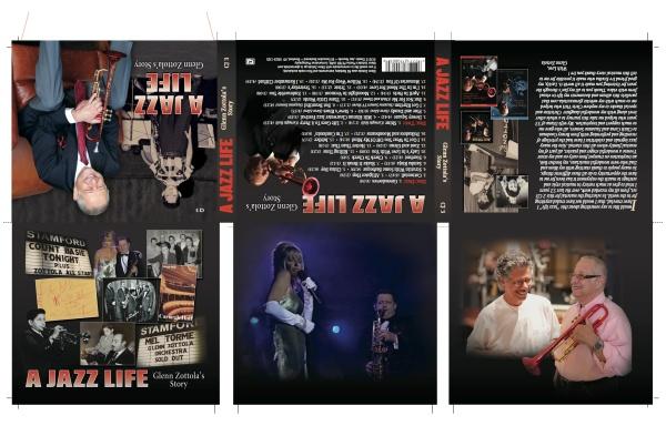 CJ 3 A Jazz Life.Glenn Zottola.15034digipak